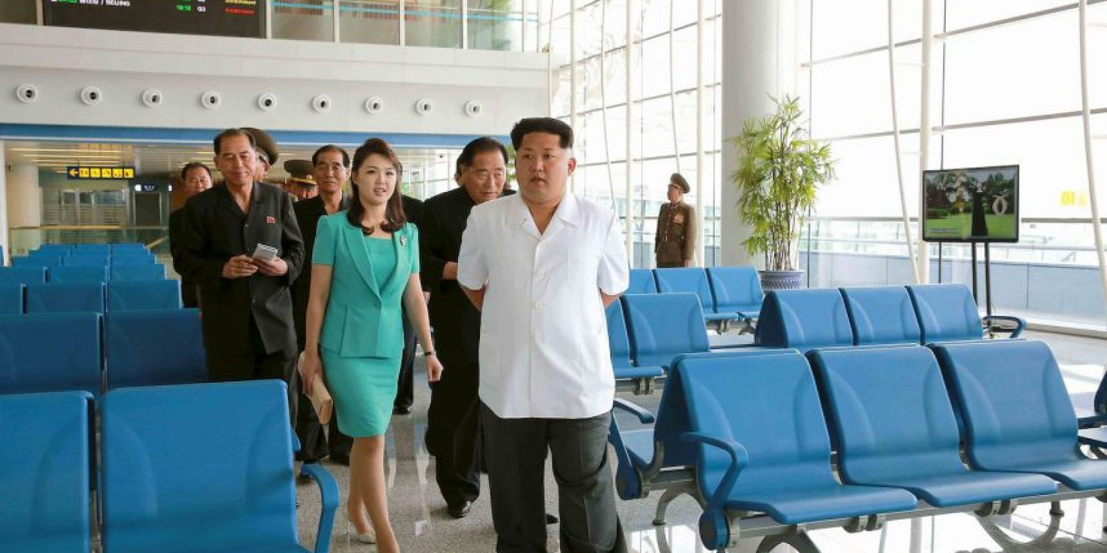 Un nuevo aeropuerto será abierto en Corea del Norte. Foto:AFP