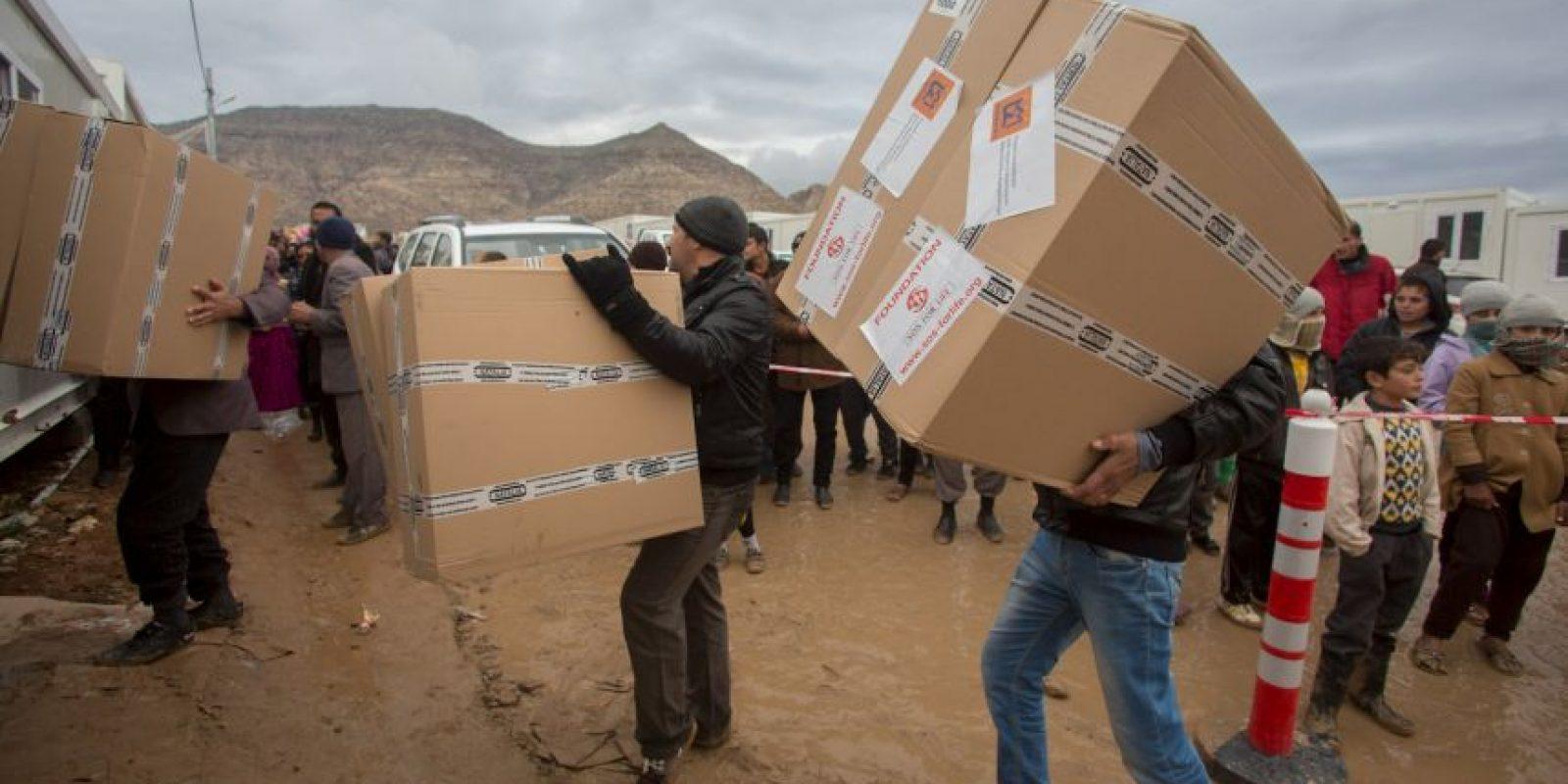 De acuerdo al mismo organismo, al menos ocho mil militantes de ISIS han muerto en los bombardeos encabezados por el ejercito de Estados Unidos Foto:Getty Images