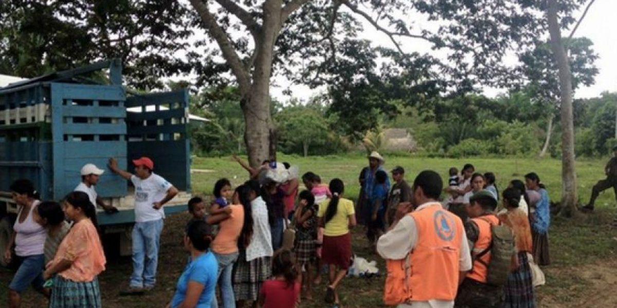 CONRED ha repartido ayuda a más de 12 mil familias en Petén