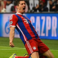 3. Robert Lewandowski Foto: Getty Images