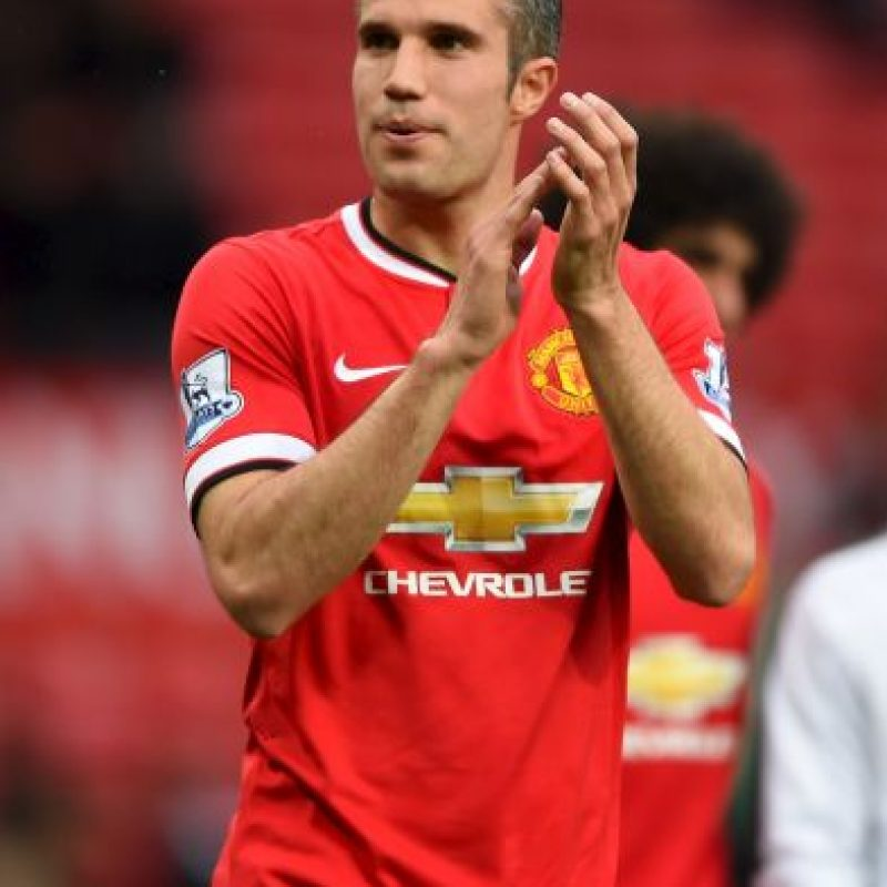 5. Robin Van Persie Foto: Getty Images