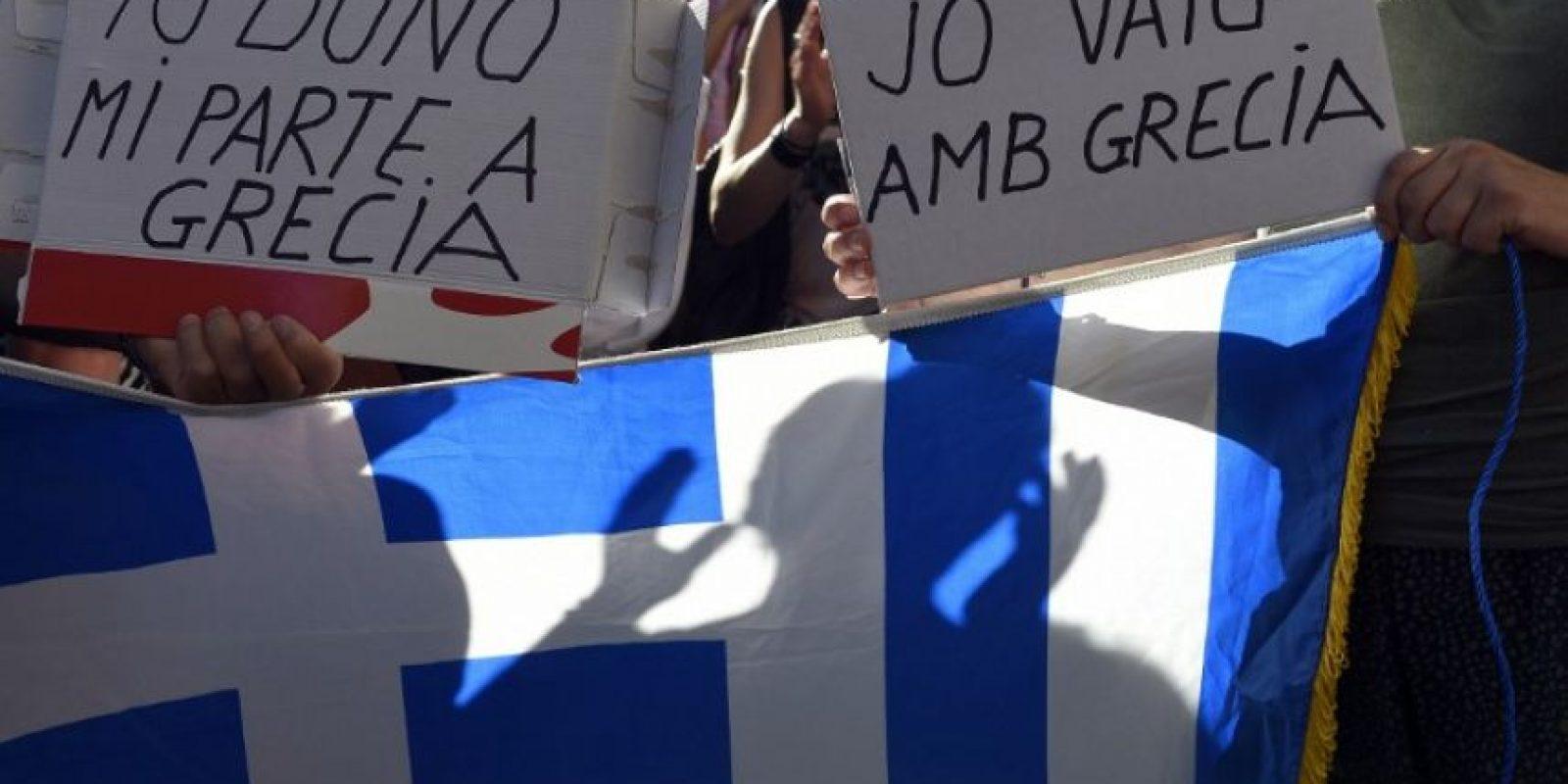 Alexis Tsipras anunció durante este fin de semana que el próximo 5 de julio se llevará a cabo un referéndum en el que el pueblo griego decidirá su permanencia en la eurozona. Foto:AFP