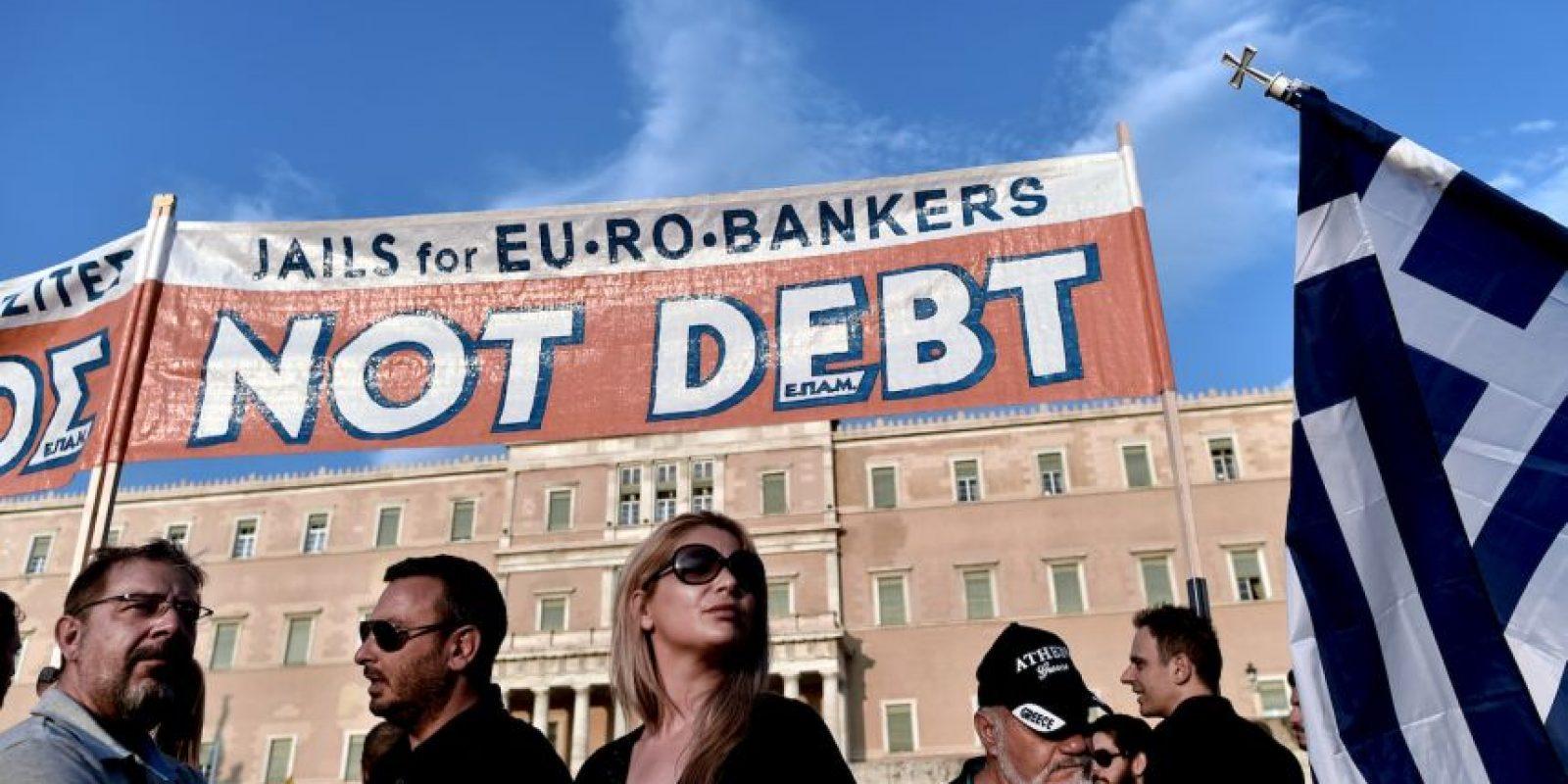 El martes expira el plazo que Grecia tenía para pagar casi $1.8 mil millones de dólares. Foto:AFP