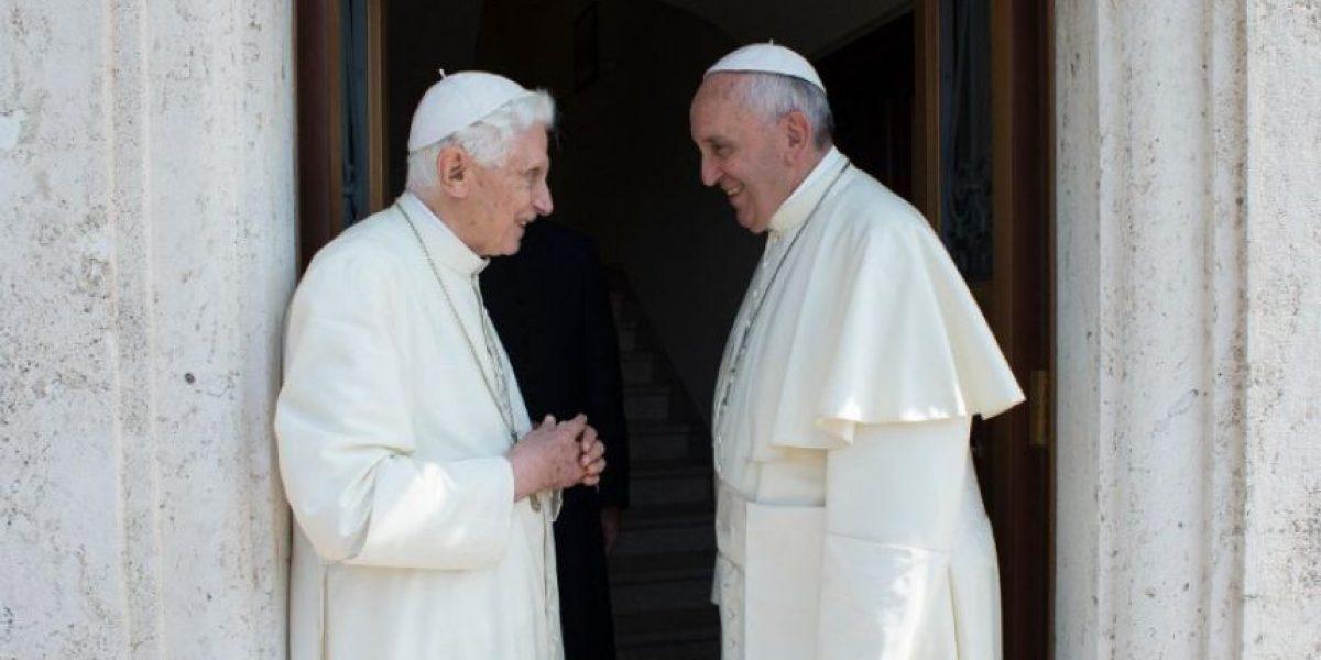 Así fue la reunión sorpresa entre el Papa Francisco y el Papa Benedicto XVI