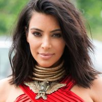 Al parecer, Kim se dio cuenta que su CI no es el que ella quisiera tener. Foto:Getty Images