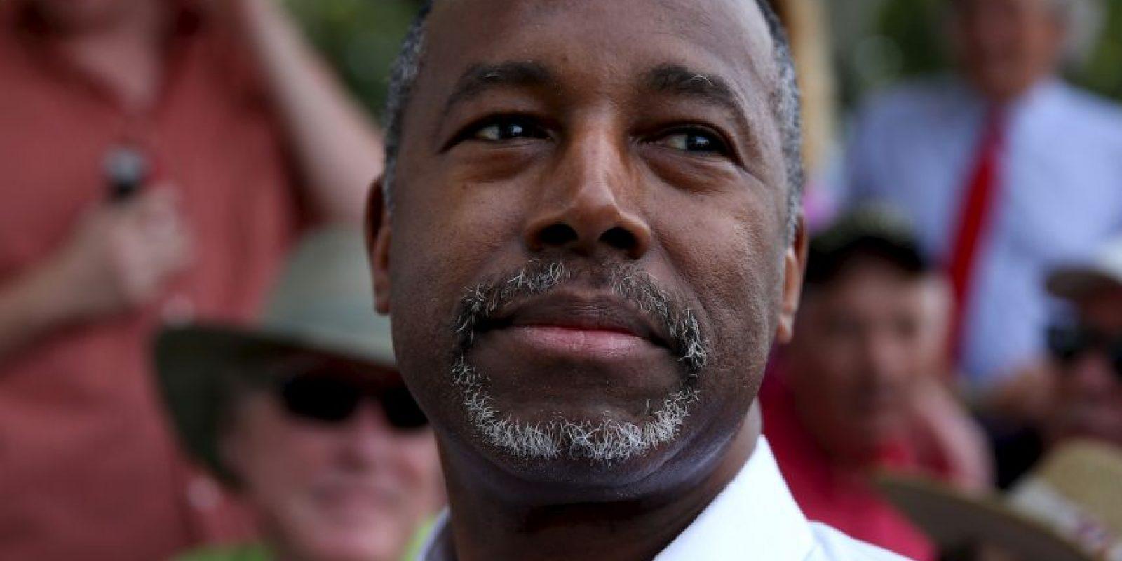 Ben Carson, neurocirujano retirado Foto:Getty Images