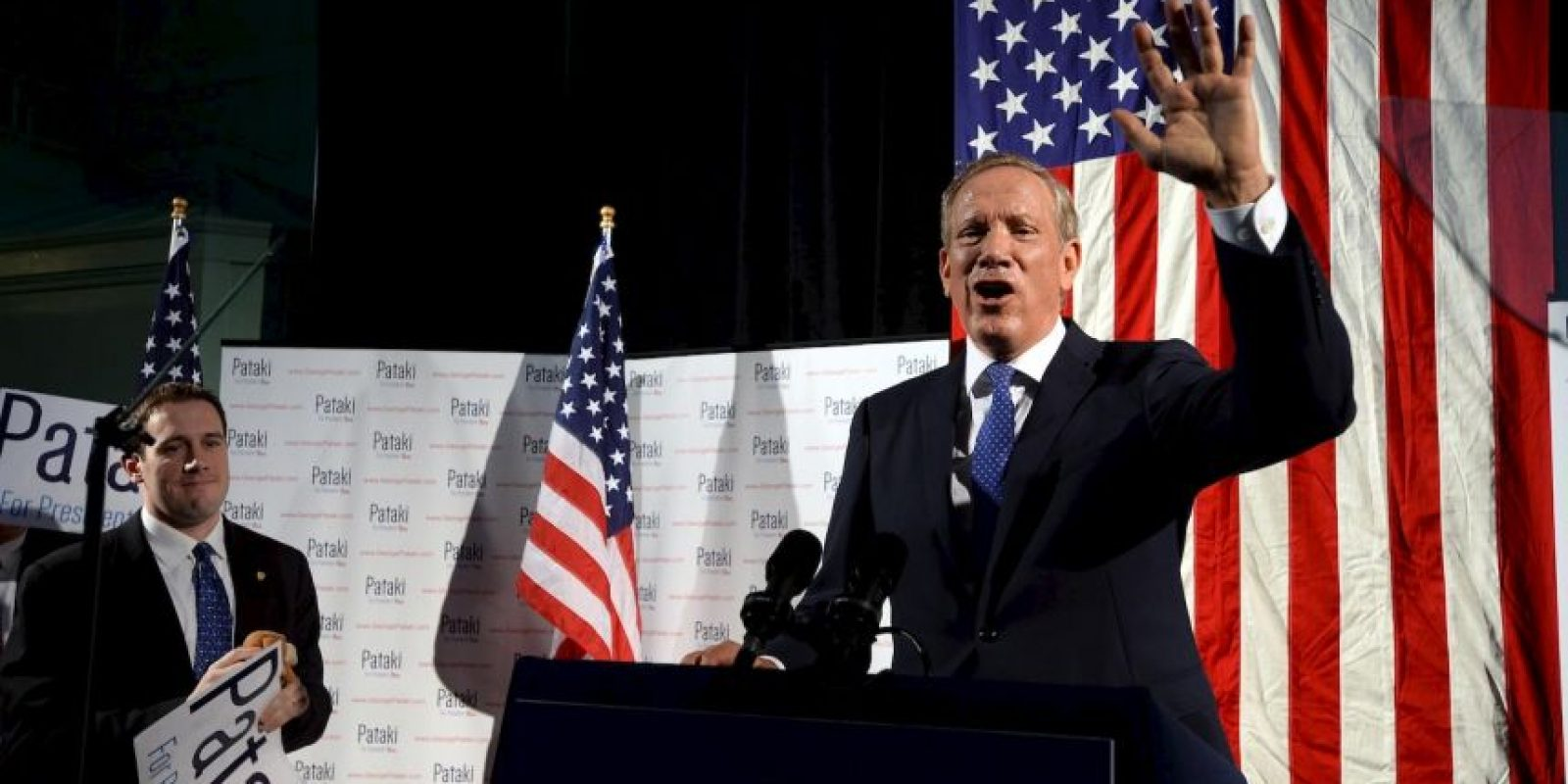 George Pataki, exgobernador de Nueva York Foto:Getty Images