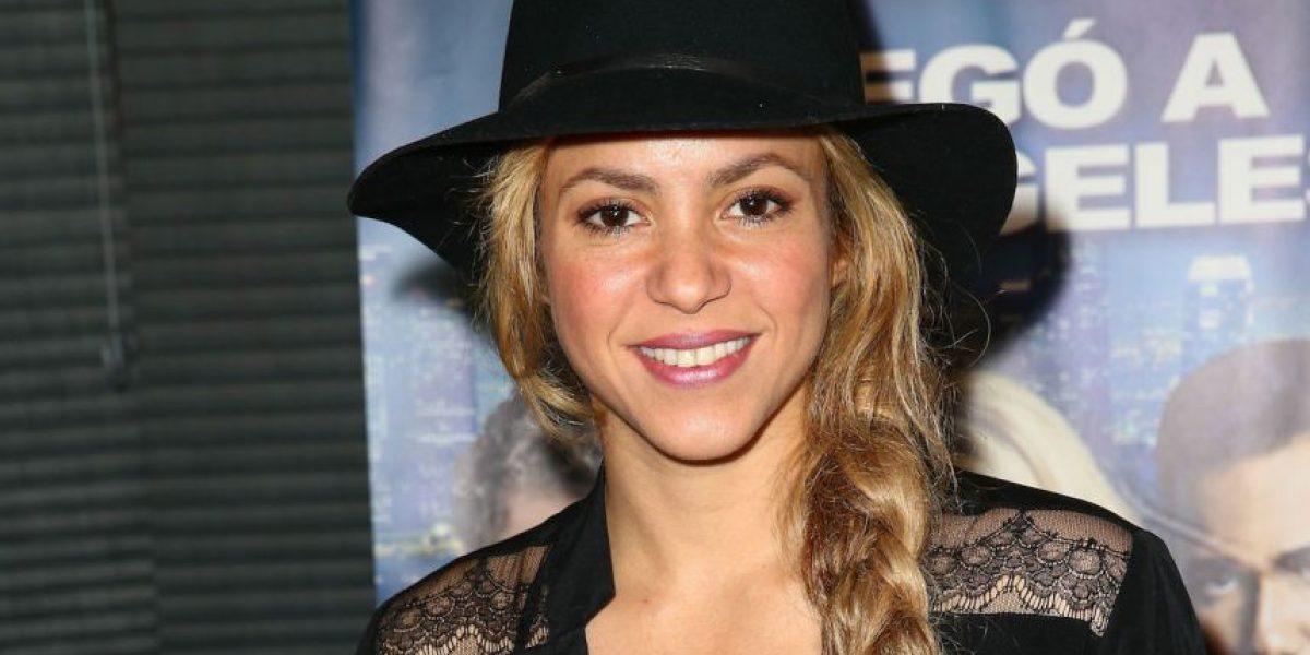 Shakira llama