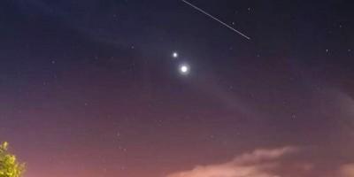 Venus y Júpiter ofrecen espectáculo celeste esta noche