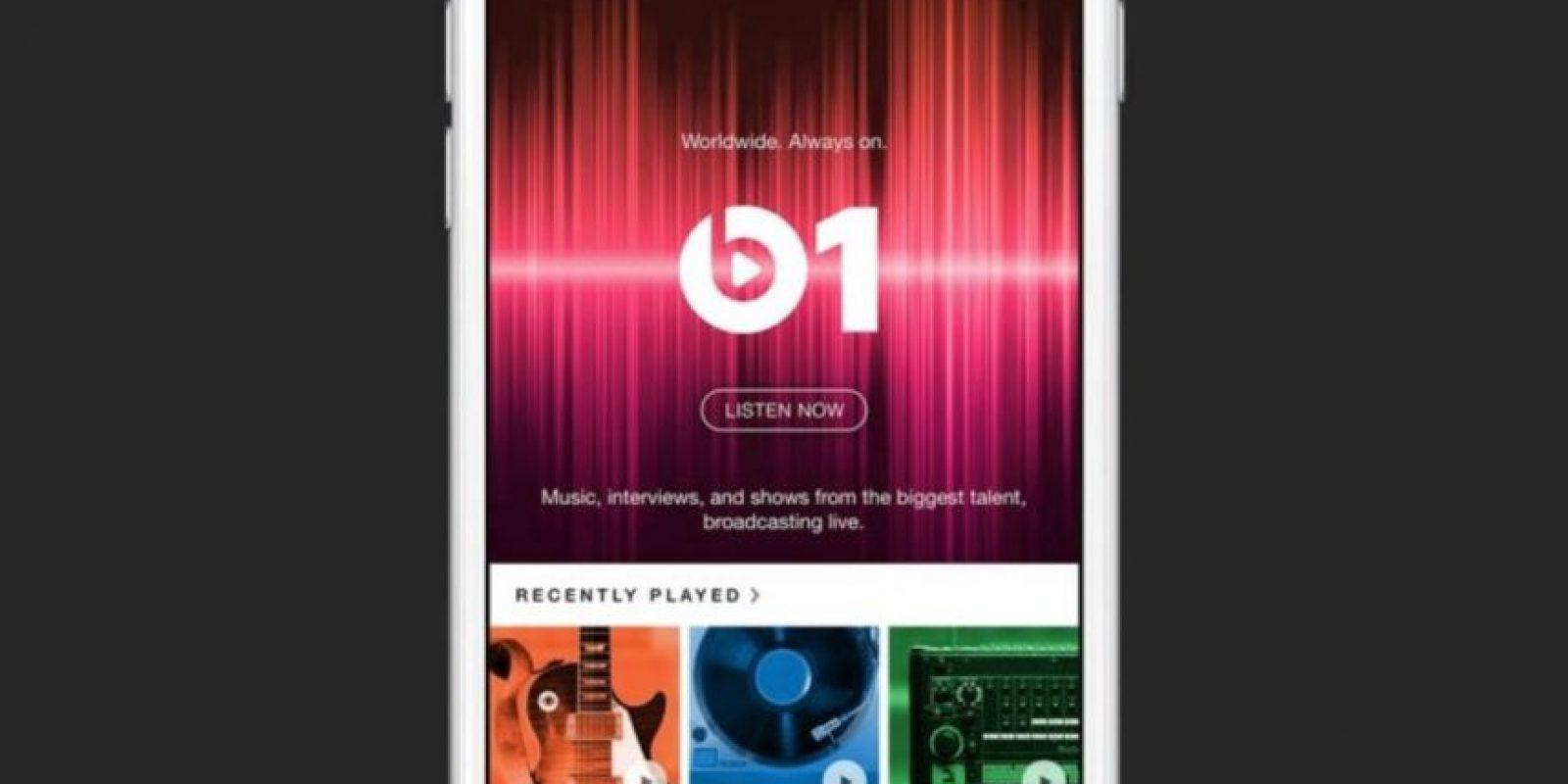 Beats 1 reproduce música personalizada programada por un DJ y no por un algoritmo. Foto:Apple