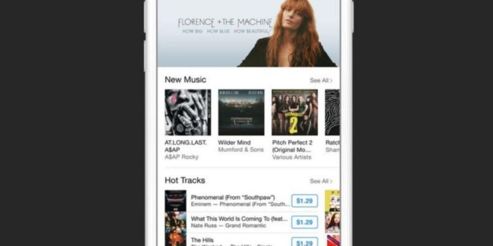 8) Sin comerciales. Foto:Apple