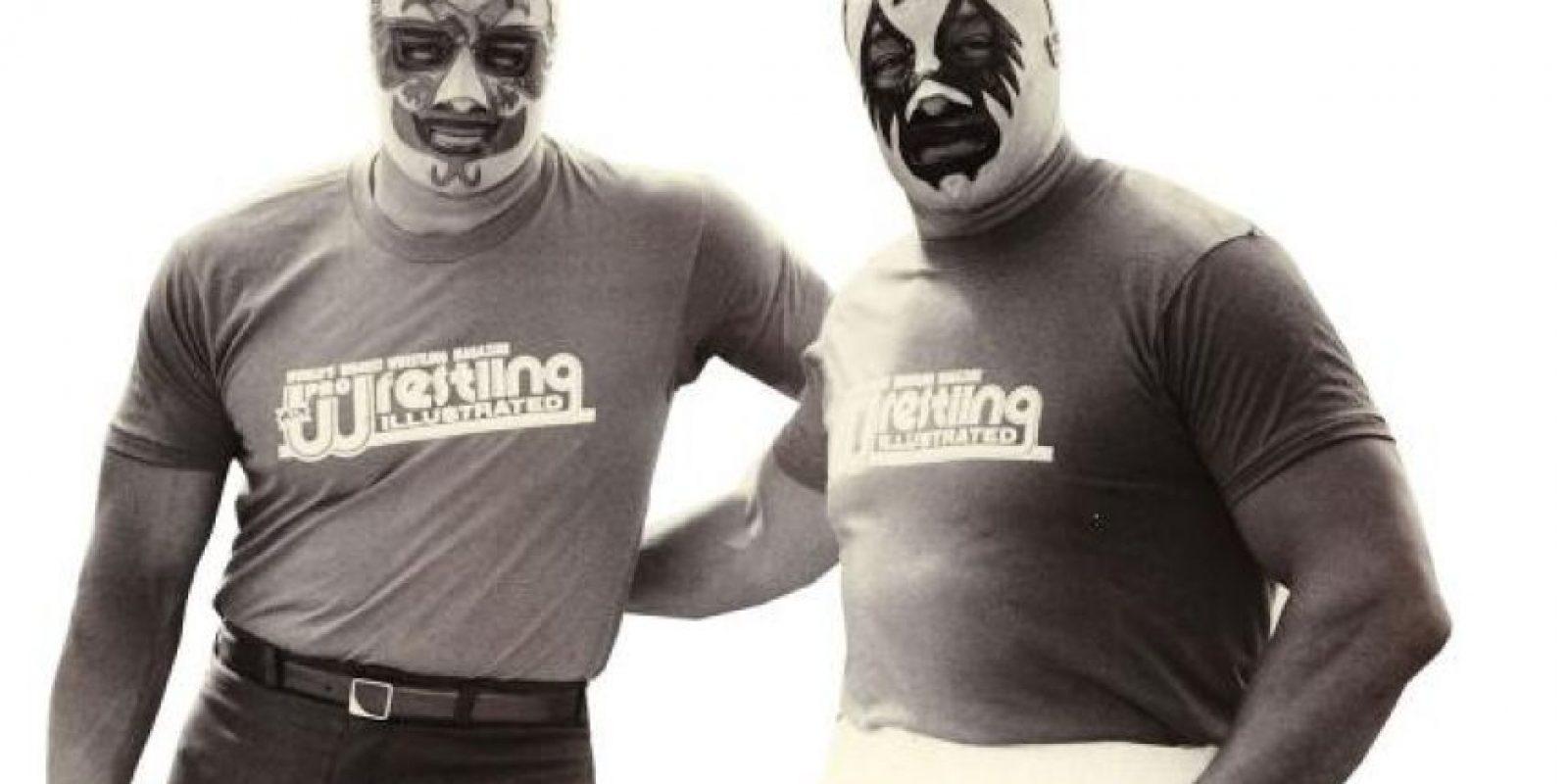 Dos Caras y Mil Mascaras. Luchadores emblemáticos mexicanos Foto:WWE