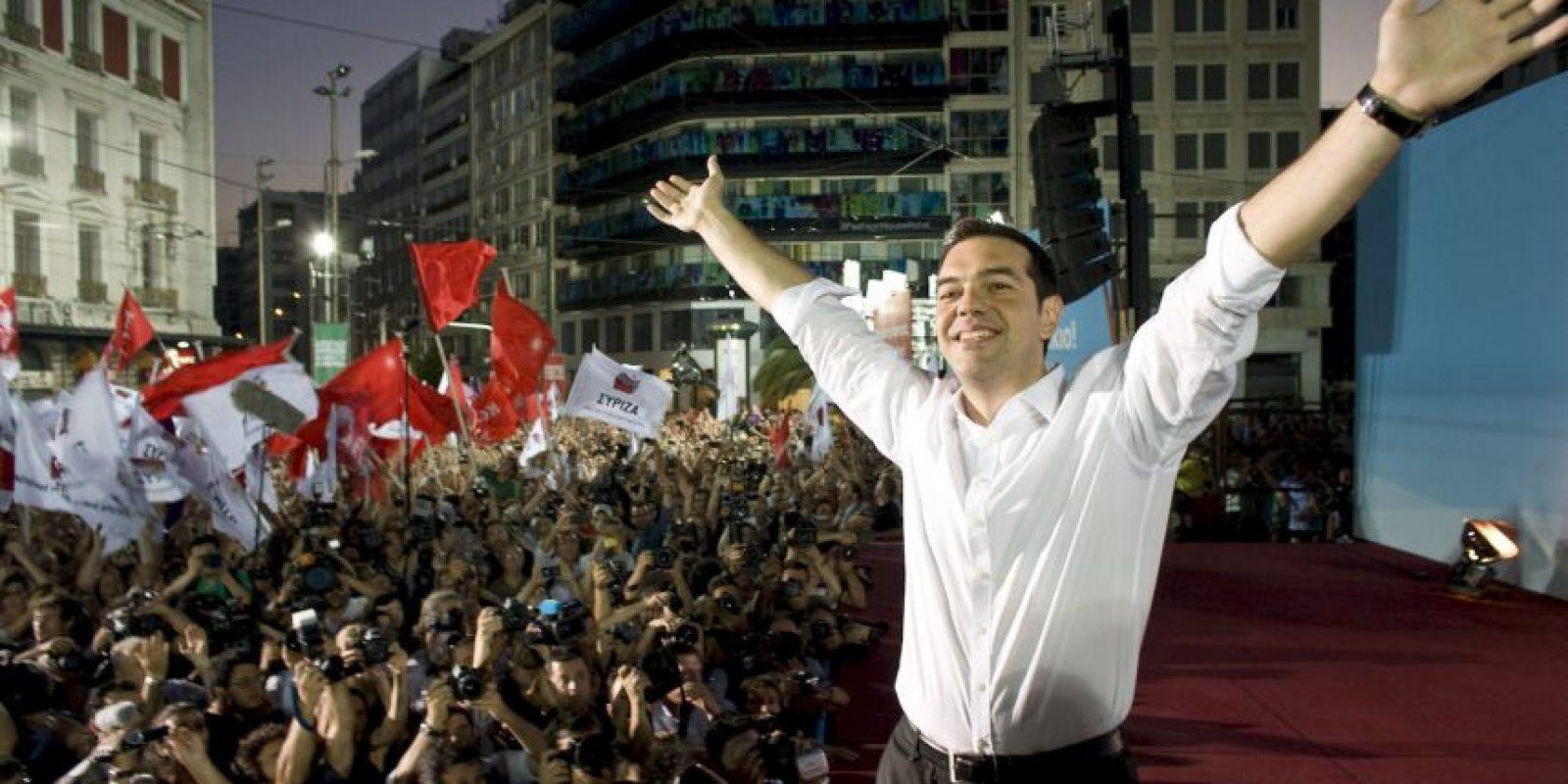 """1. """"Si los griegos quieren continuar con los planes de austeridad a perpetuidad, que no nos dejará levantar nuestras cabezas, lo respetaremos, pero no lo llevaremos a cabo"""", comentó sobre la posibilidad de que el referéndum acepte las propuestas de la Troika Foto:Getty Images"""