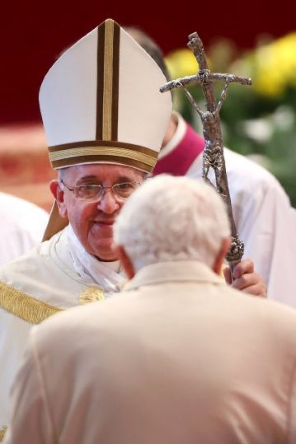 En el ordenamiento de 19 nuevos cardenales en la Basílica de San Pedro Foto:Getty Images
