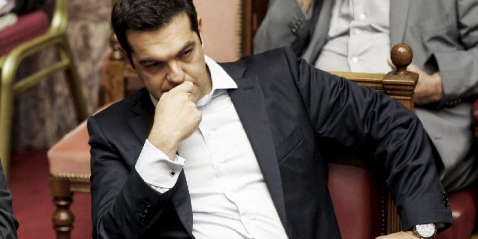 """9. """"No seré primer ministro por todos los tiempos"""", comentó dejando abierta la posibilidad de su dimisión en caso de fracasar con el referéndum Foto:Getty Images"""