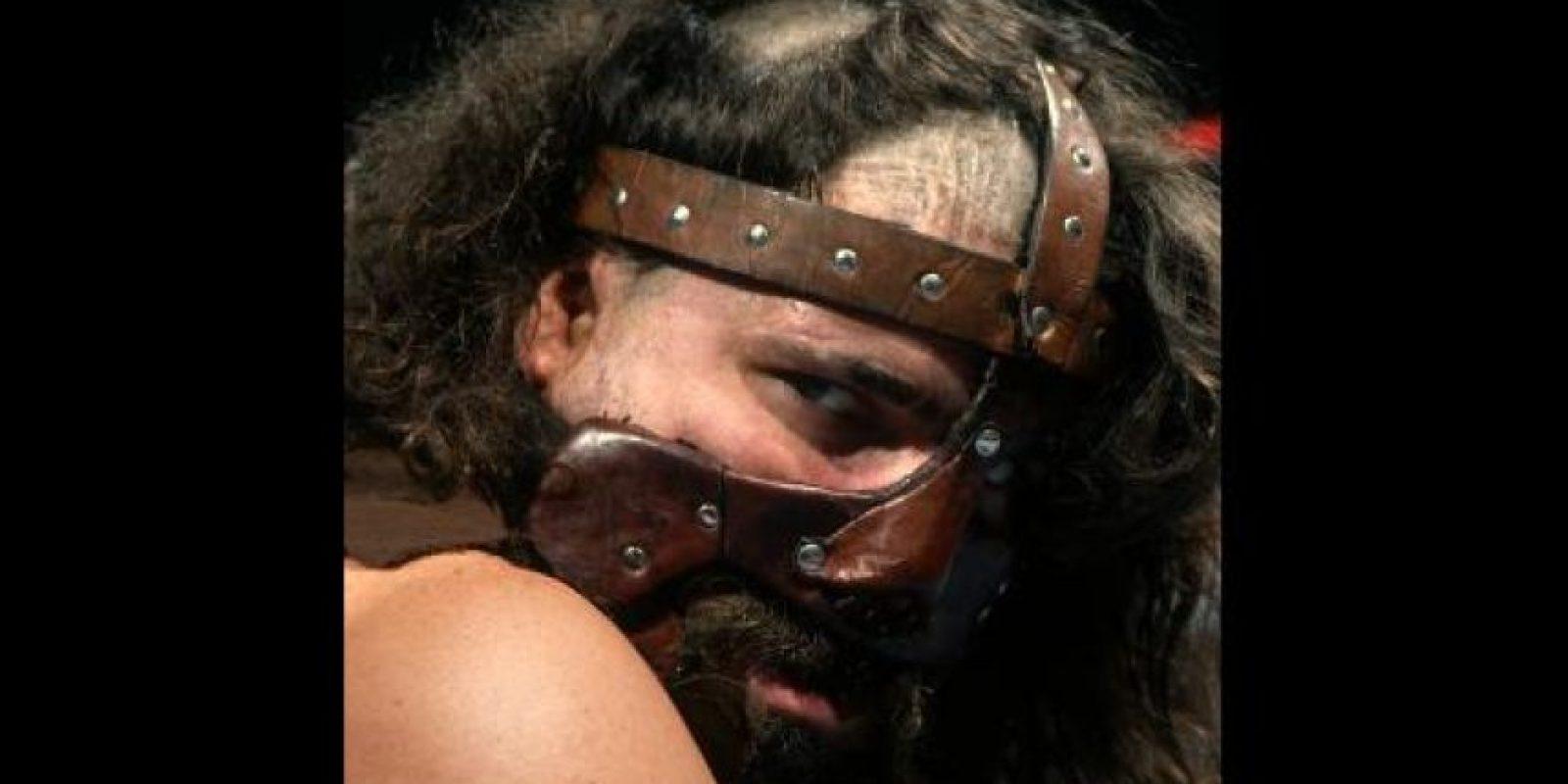 Mankind. Una de las personalidades de Mick Foley Foto:WWE