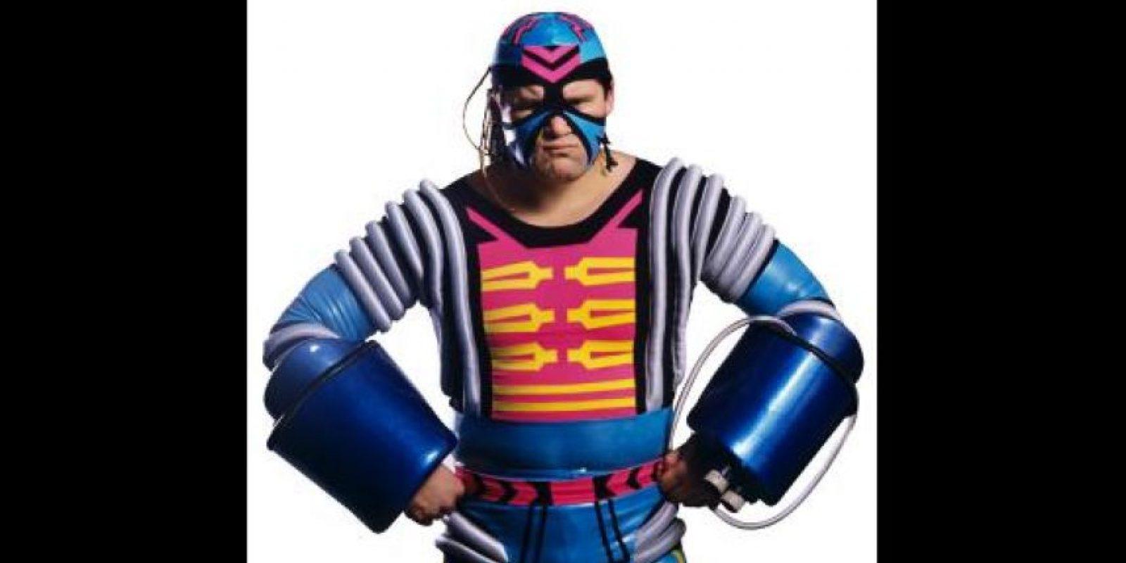 Max Moon. También peleó como Paul Diamond, Kato y Haito Foto:WWE