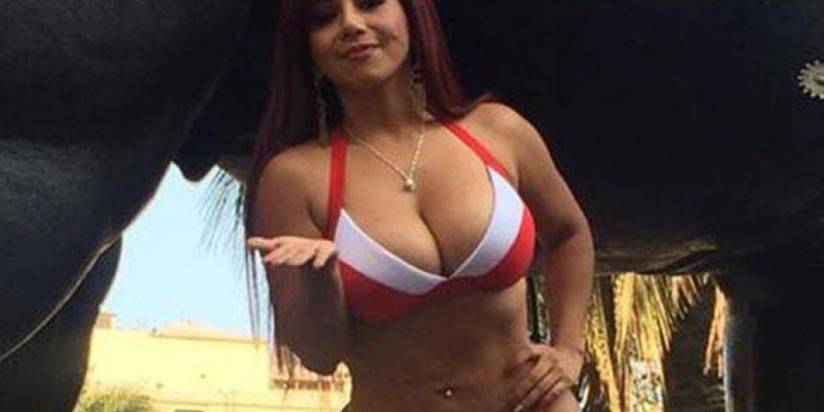 FOTOS. Así llegó vestida para apoyar a la Selección de Perú