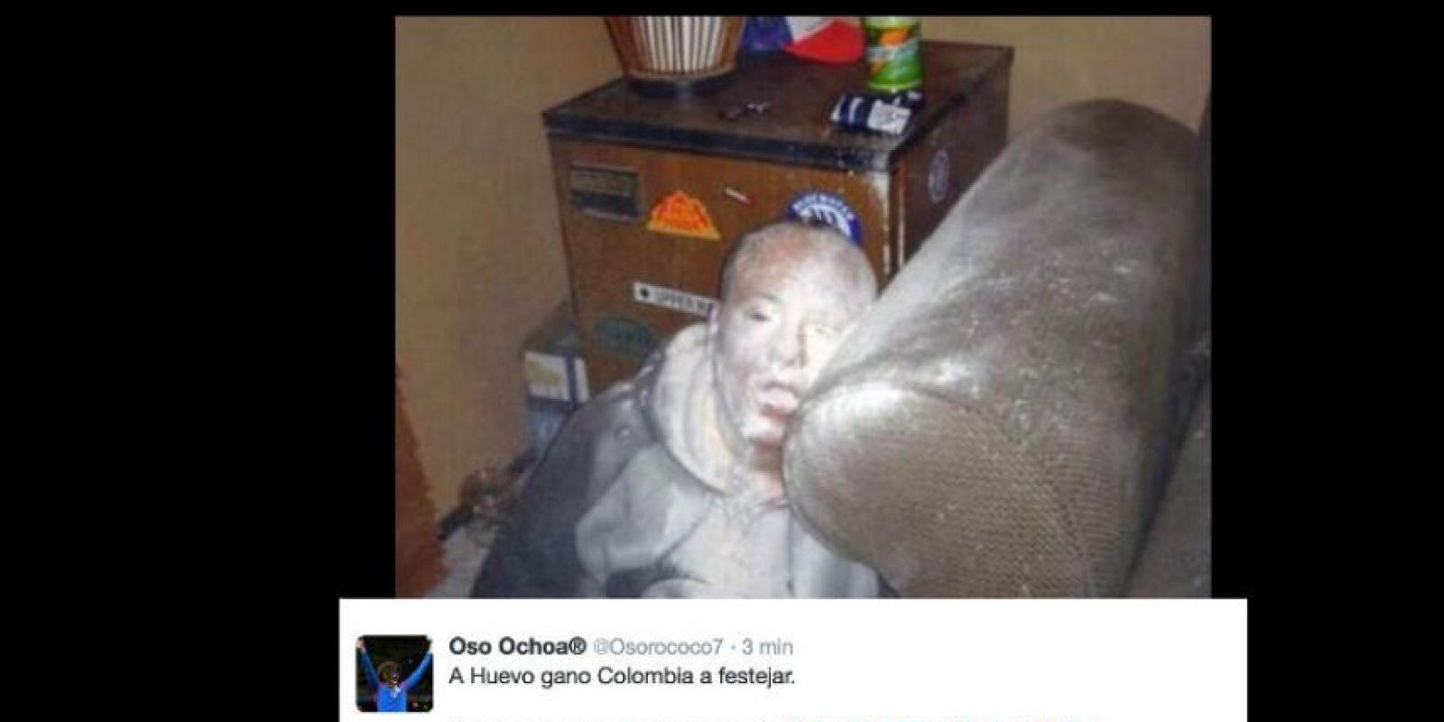 La parodia hecha por Belén Mora no ha sido la única que ha ofendido a los colombianos. Foto:vía Twitter
