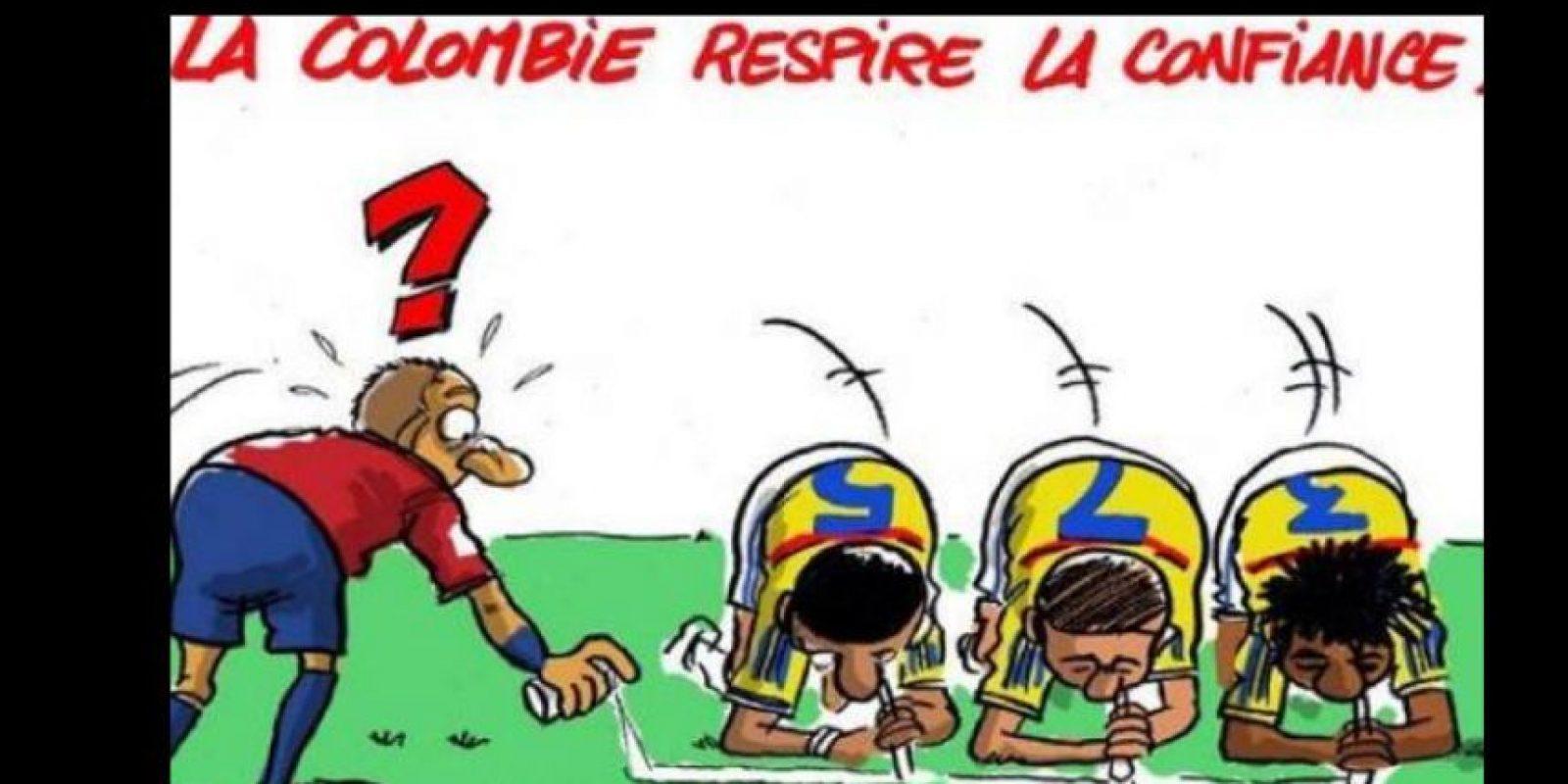 Como si no bastara, el caricaturista Pascal Padr hizo esto y fue tanto el escándalo, que lo amenazaron de muerte. Foto:vía Twitter