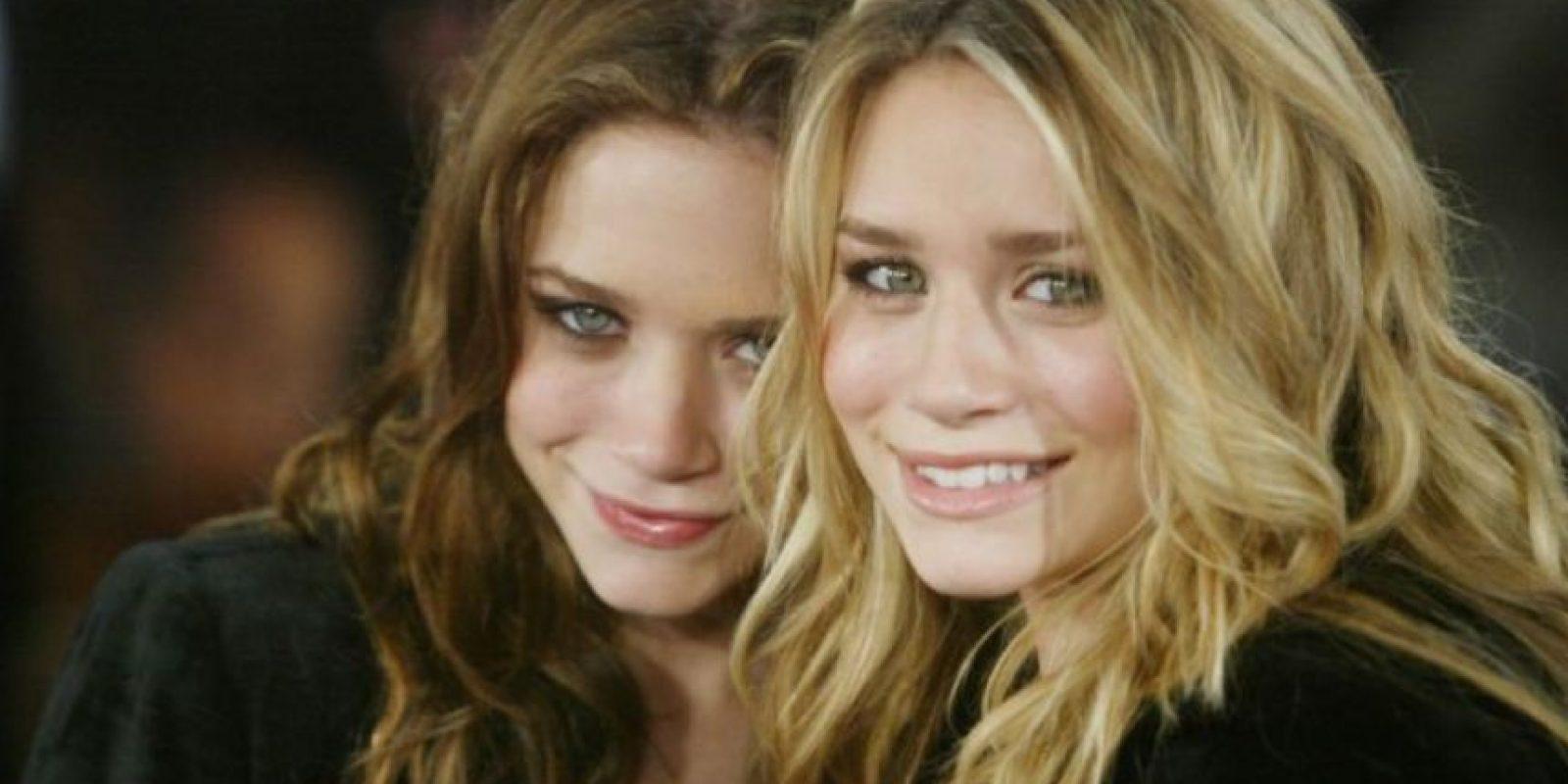 1. Las gemelas Olsen. Foto:vía Getty Images
