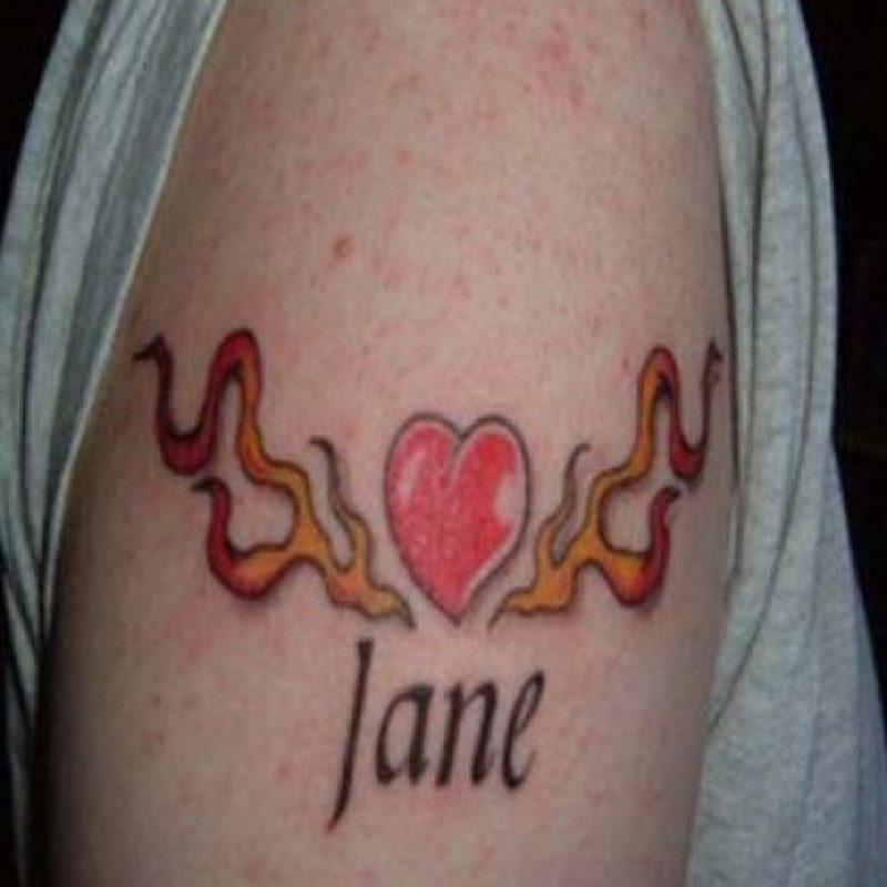 1. El corazón junto a Jane desapareció Foto:Reddit