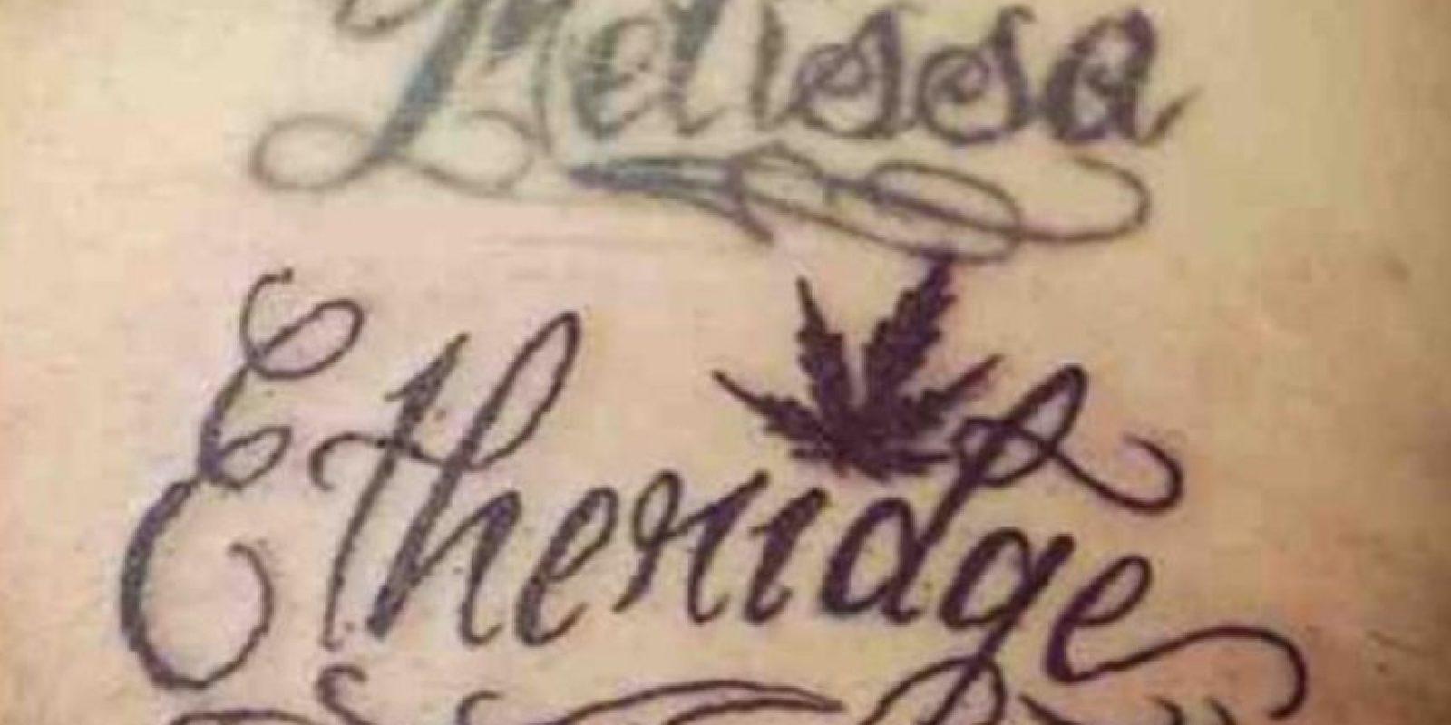 12. Ocultó el nombre de su novia Melissa con el apellido de una cantante de Country. Foto:Reddit