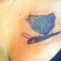 Se convirtió en una mariposa. Foto:Tumblr.com/Tagged/tatuaje/ex