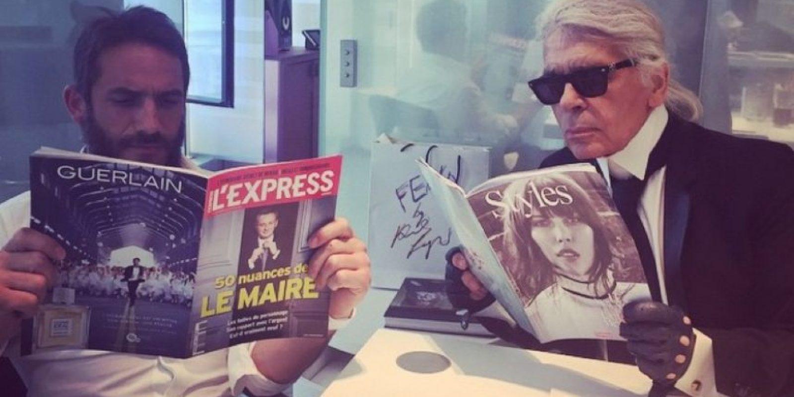Tiene 40 años y es francés. Foto:Vía Instagram.com/bentoub