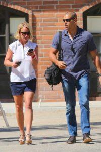 8. Britney Spears también ha tenido guardaespaldas muy atractivos, aquí una muestra de ello. Foto:Getty Images