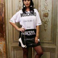 Katy Perry es imagen de Moschino. Foto:vía Getty Images