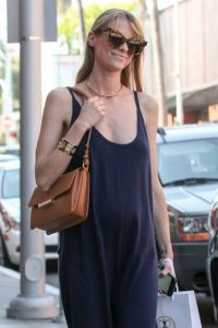 Así luce Jaime King en su embarazo. Foto: Getty Images