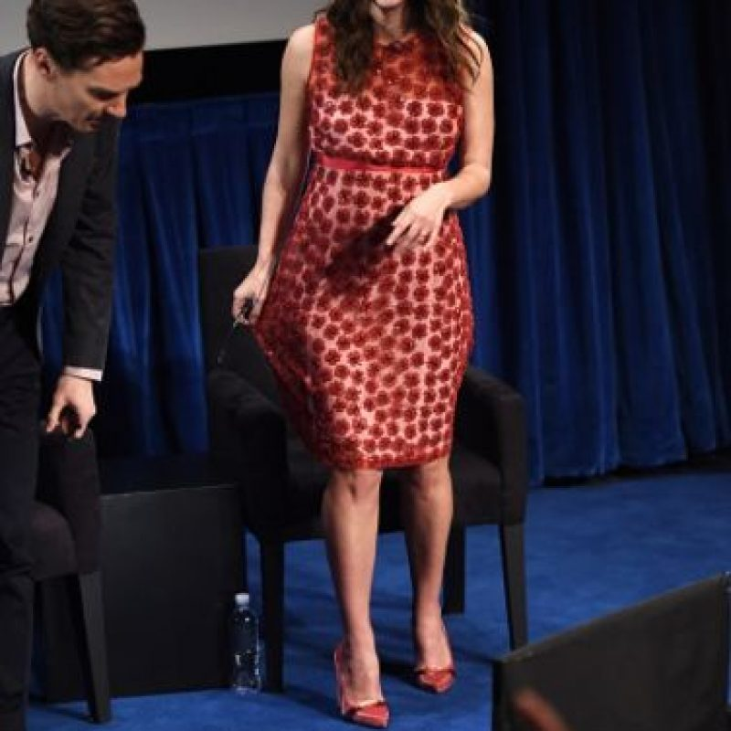 La actriz inglesa que esperaba a su primer bebé, lucía así a los 6 meses. Foto:Getty Images
