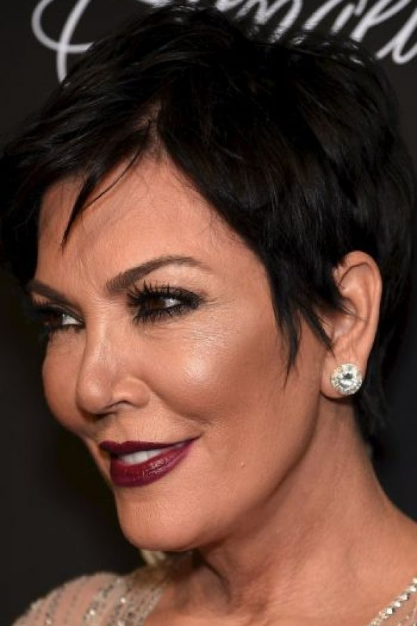 Otra muestra del abuso que hace Kris Jenner con el maquillaje Foto:Getty Images
