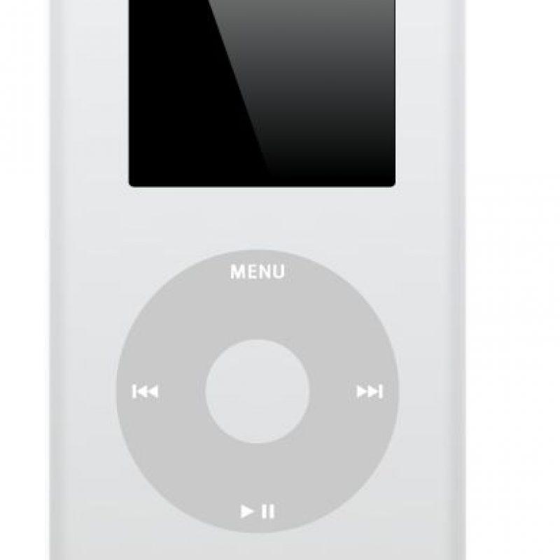 iPod (con almacenamiento y reproducción de fotos) Foto:Apple