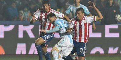 Las mejores postales de Messi en las semifinales Foto:AFP
