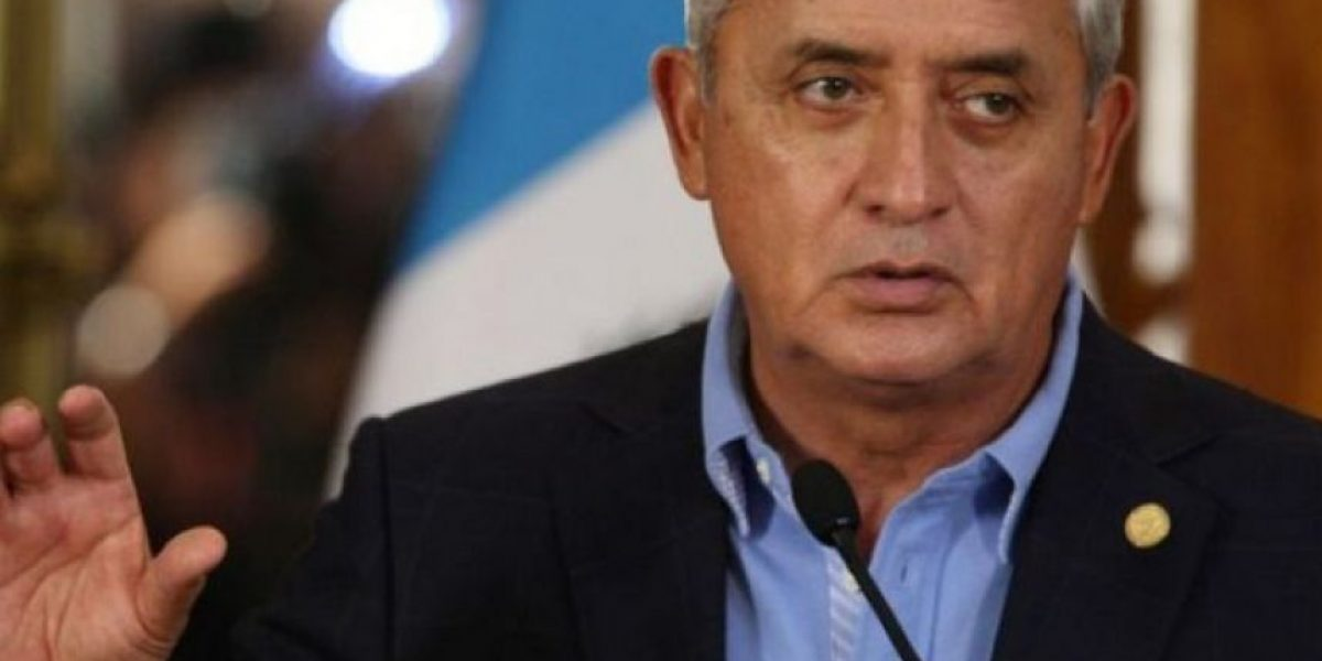 Diputados de Líder recomiendan retirar inmunidad a Otto Pérez