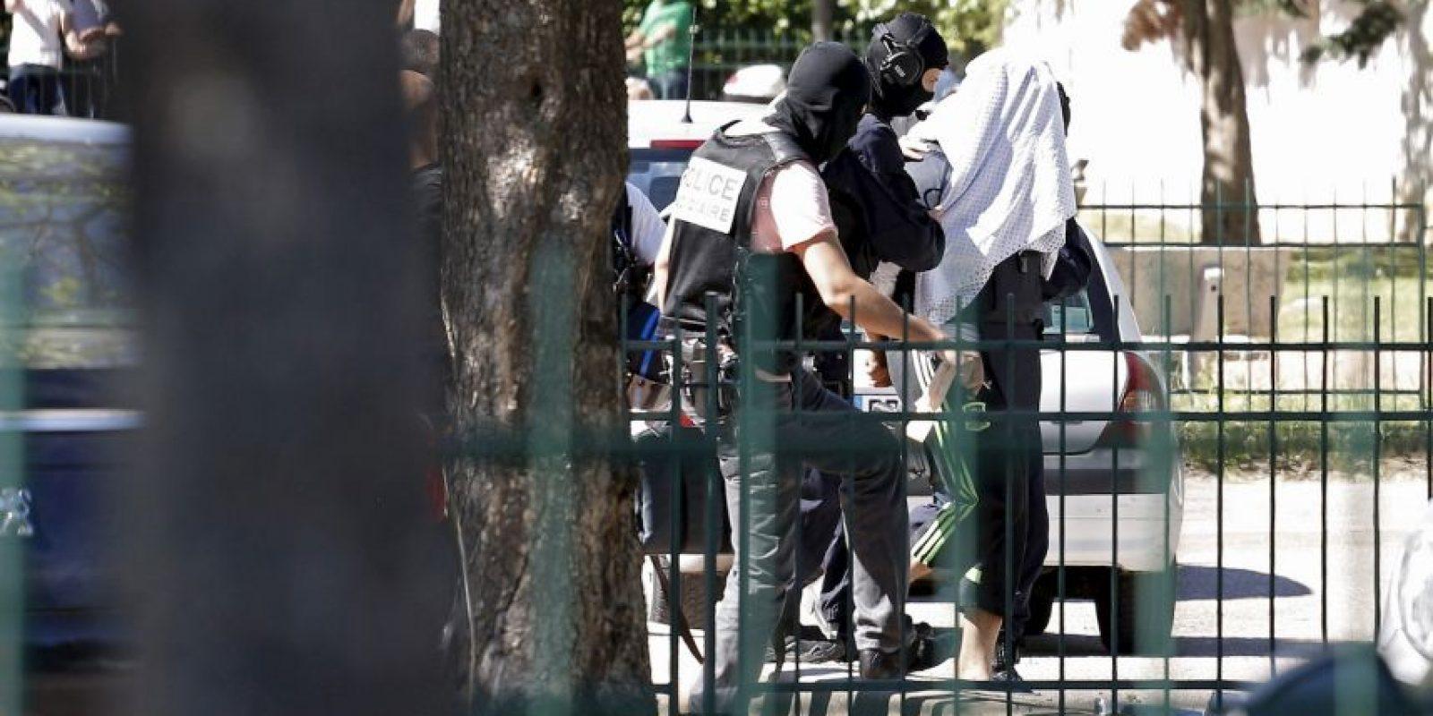 Yassin Salhi es investigado por chocar su automóvil con una fábrica de químicos estadounidense. Foto:AP