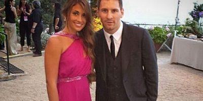Pareja de Lionel Messi Foto:Vía instagram.com/antoroccuzzo88