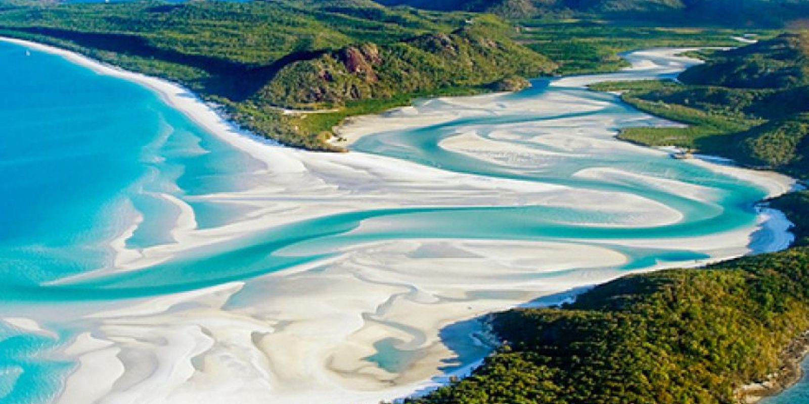 Playa Whitehaven, en Australia. Foto:vía Flickr.