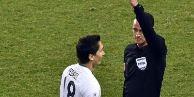 Su partido más criticado fue el de México vs. Camerún en 2014. Foto:vía Getty Images