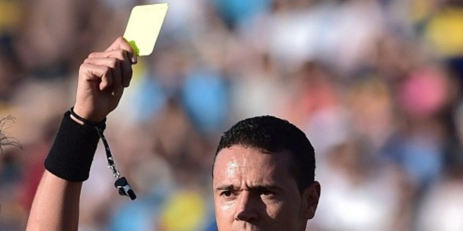 En 2013 fue destacado como octavo mejor árbritro del mundo por la FIFA. Foto:vía Getty Images