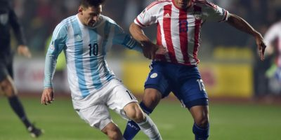 Delantero: Lionel Messi Foto:AFP