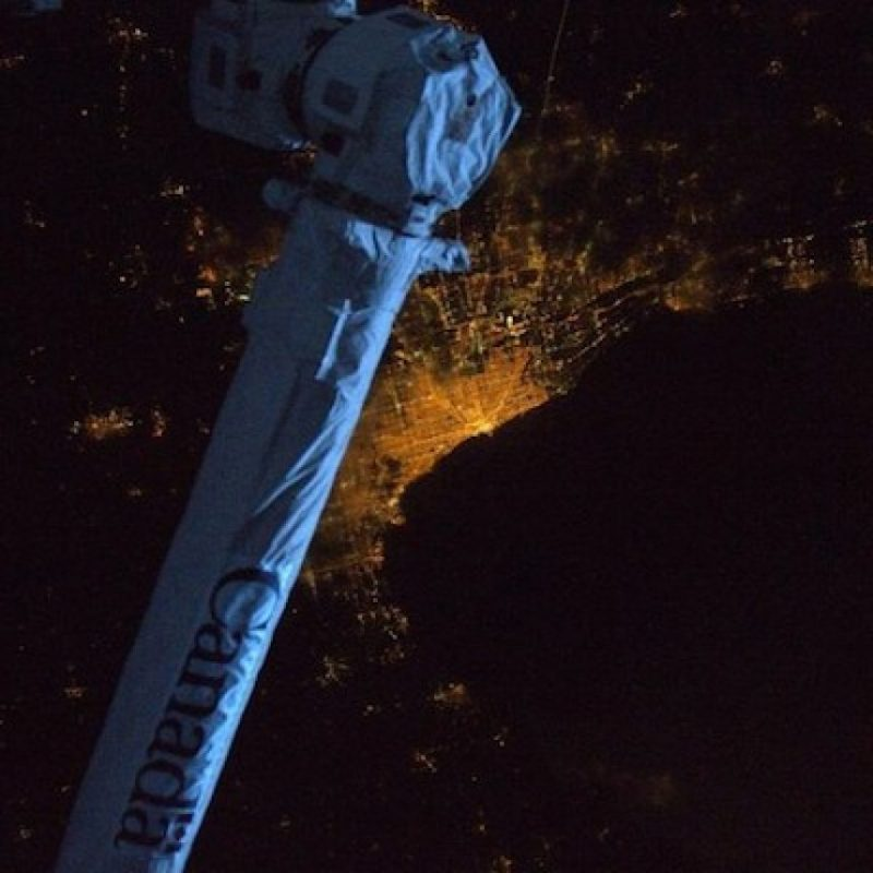 Chicago, Estados Unidos, de noche Foto: Instagram.com/stationcdrkelly