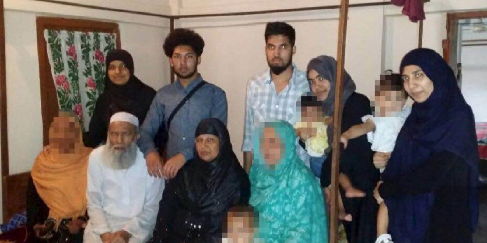 La familia británica Mannan comunicó que se había unido al Estado Islámico. Foto:Vía facebook.com/bedspolice