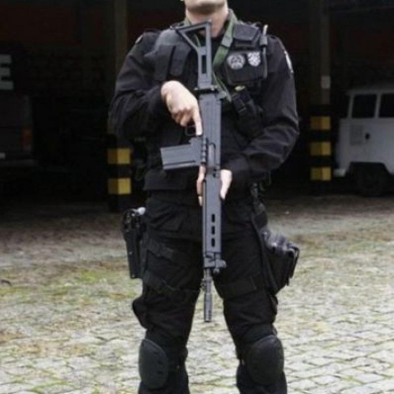 Lucius Carvalho es un apuesto teniente del Batallón de Operaciones Especiales en Brasil, tiene 33 años y su labor a la sociedad es admirable, además de su guapura. Foto:Vía Intagram/Lucius Carvalho