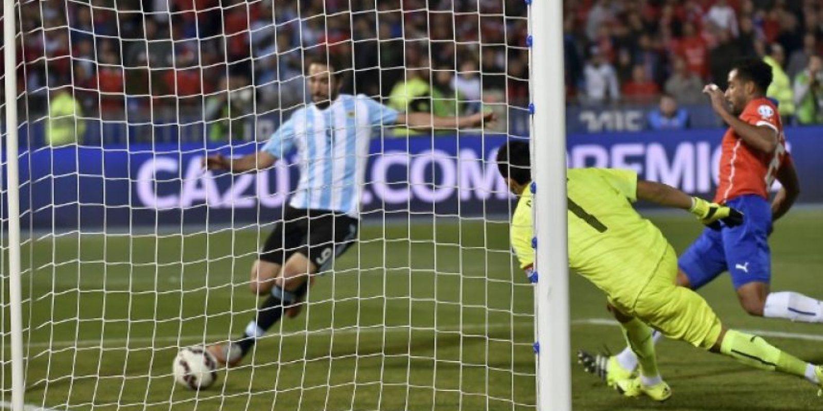 Y desperdició una clara opción de gol al final del tiempo regular