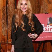 "Lindsay Lohan se negó a ser la imagen publicitaria de ""Burguer King"" Foto:Getty Images"
