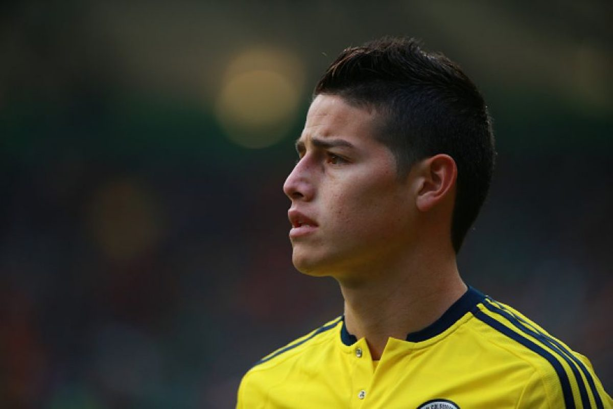 5. James Rodríguez (Colombia). Foto: Getty Images