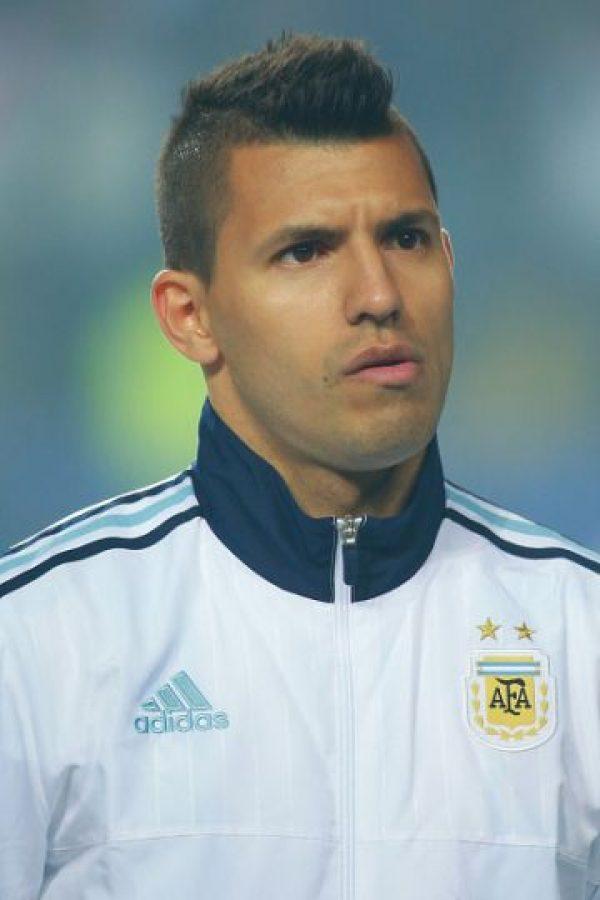 "6. Sergio ""Kun"" Agüero (Argentina). Foto:Getty Images"